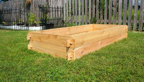 Raised Planters by Raised Garden Planter Bed Flower Box Cedar Vegetable