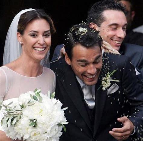 silvana dress flavia pennetta and fabio fognini are married 39 s