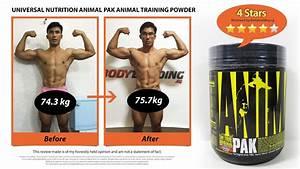 Animal Pak Workout Programs
