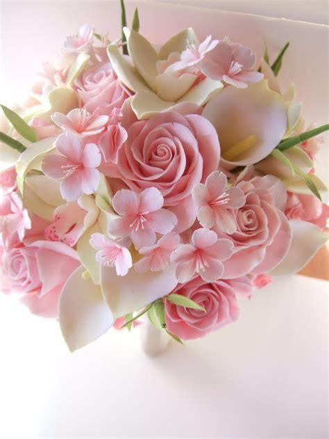 cherry blossom bouquet ideas  pinterest tall