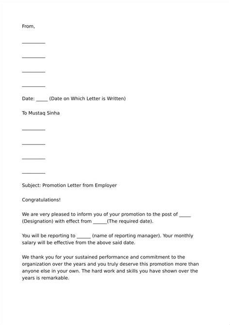promotion letter template 27 promotion letter templates in pdf free premium templates
