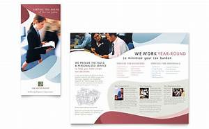 Real Estate Brochure Templates Free Tax Accounting Services Brochure Template Design
