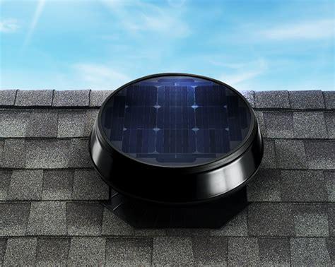 Solar Powered Garage Fan by Garage Fans 3 Best Garage Venting Ideas