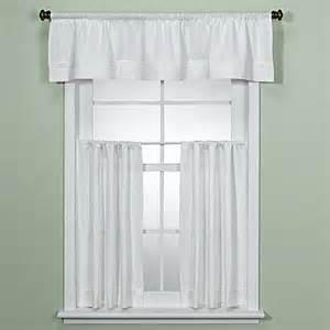 maison white kitchen window curtain tiers bed bath beyond