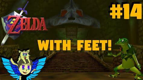 Legend Of Zelda Ocarina Of Time With Feet -big Falls