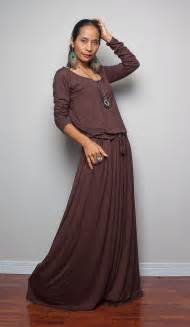 navy blue bridesmaid dresses brown maxi dress chocolate brown sleeve dress autumn
