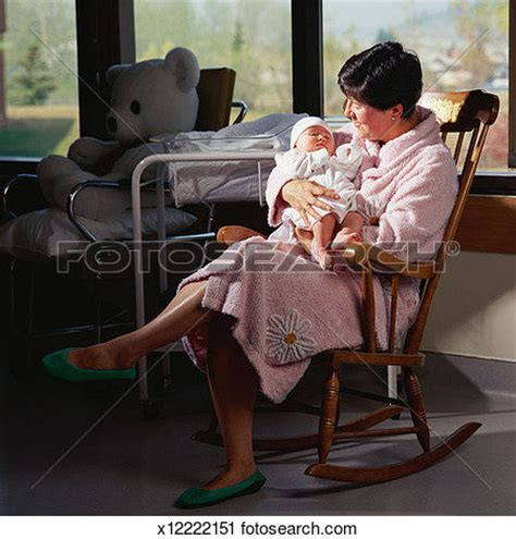 Clip Art Mother Rocking Baby Chair Clipart  Clipart Suggest