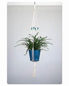 Suspension Pour Plante Interieur : suspension pour plante en macram bymadjo allois d co ~ Teatrodelosmanantiales.com Idées de Décoration