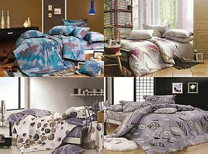 bedding sets clearance queen king size bed duvet doona quilt cover set new 100