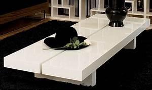 Table Basse Grande Taille : table basse grande taille table basse blanche pas cher maisonjoffrois ~ Teatrodelosmanantiales.com Idées de Décoration