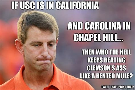 Clemson Memes - 88 best gamecocks images on pinterest clemson daddy and funny images