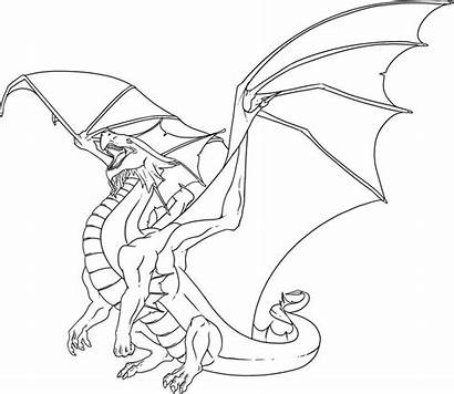 Coloring Dragon Adult Pages Adults