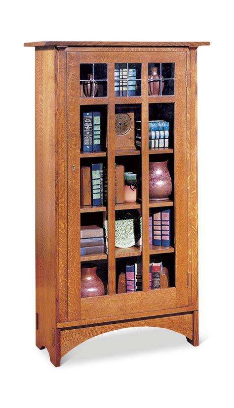 Single Shelf Bookshelf by Single Door Bookcase By Stickley Gabberts