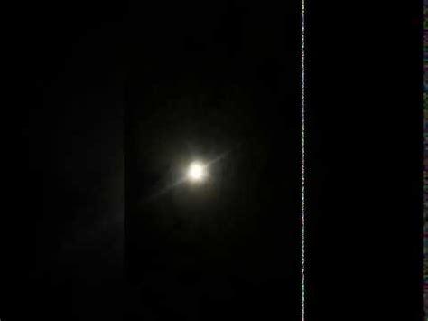 penampakan bulan  aneh malam  youtube