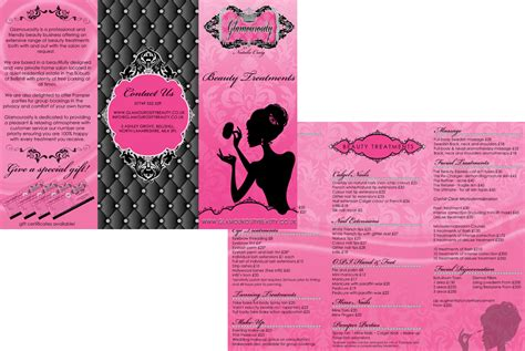 Brochure Design For Boutiques by Graphic Design Portfolio Posh Web Design