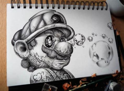 strange cartoon character drawings  pez artwork
