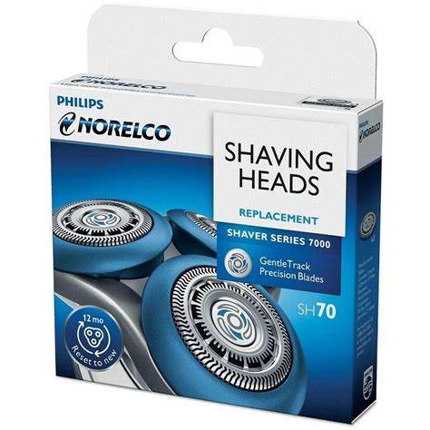 Philips Norelco SH70 Replacement Shaving Heads 75020048615
