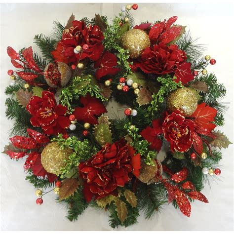 tina 39 s door wreaths peony pine wreath