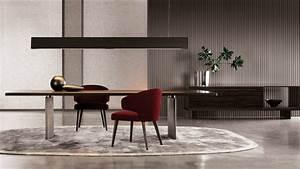 meuble design pour salon et salle a manger 8 tables et With salle À manger contemporaine avec fauteuil en bois