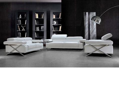 casa divani dreamfurniture divani casa linx modern leather