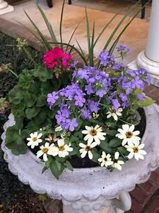 Flower, Arrangement, For, Front, Porch