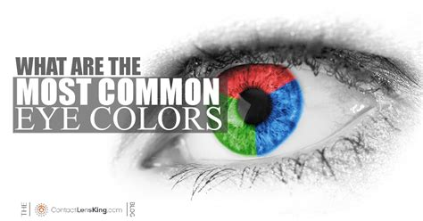 what is the most common eye color eye color percentages most common eye colors in the world