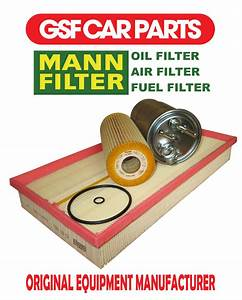 Service Kit Oil Air  U0026 Fuel Filters Replacement Part Vw New