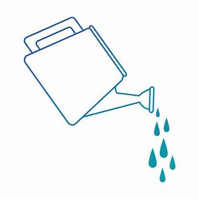 Pouring Water Pitcher Clip Illustrations Icon Sprinkler