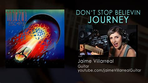 Don't Stop Believin (cover) By Jaime Villarreal
