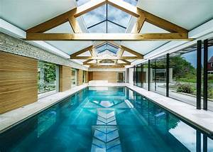 Contemporary, Pool, House, By, Re