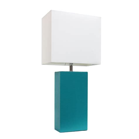 teal and white l shade elegant designs modern leather table l with white