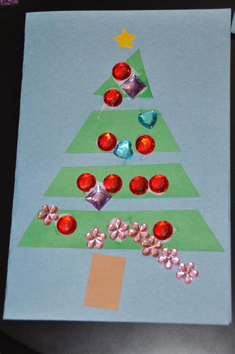 Homemade Christmas Cards For Kids To Make  Happy Holidays