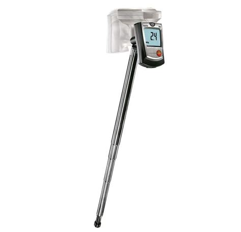 only testo testo stick thermoanemometer in metric only from cole parmer