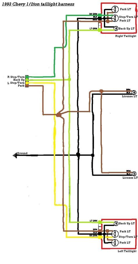 2010 Silverado Trailer Wiring Diagram by Lifted 1994 Chevy