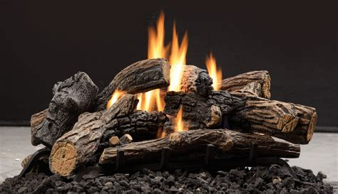 Kingsman Vented Vent Free Gas Log Sets Toronto Best Price