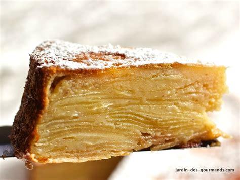 gateau pate feuilletee facile gateau feuillet 233 aux pommes jardin des gourmandsjardin des gourmands