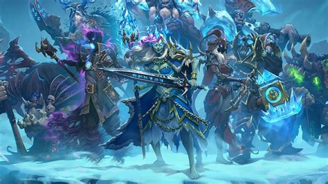 hearthstone knights of the frozen throne announcement trailer aadhu