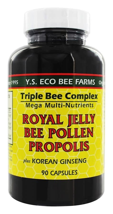 Bee Jelly 6x100ml ys organic bee farms bee complex royal jelly