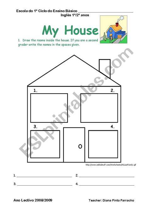 house esl worksheet  diana parracho