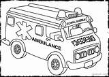 Ambulance Coloring Pages Vehicles Rescue Printable Building Truck Template Emergency Transportation Sheets Printables Jeep Clipart Dellosa Sketch Carson Getcolorings Draw sketch template