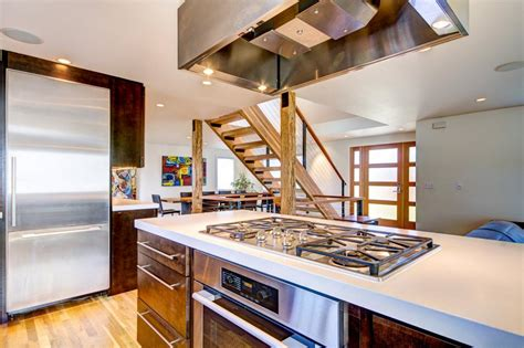 kitchen island with range and photo page hgtv