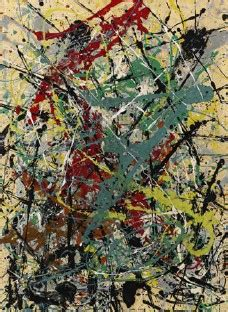pollock free form price two works by jackson pollock at sothebys