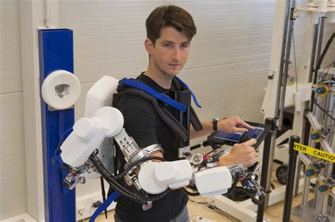 space  images   telerobotics exoskeleton