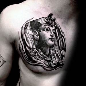 Images Of King Tut Tattoo Chest Golfclub