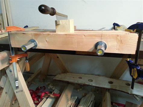 twin screw moxon vise  corpmule  lumberjockscom