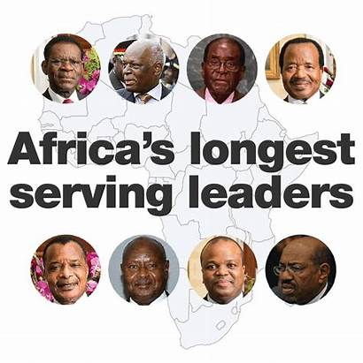 Africa Leaders Serving African Presidents Longest Continent