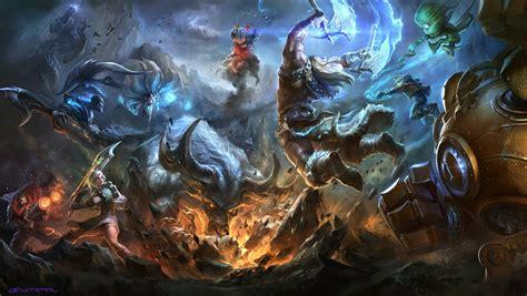 Artstation  League Of Legends Wallpapers, Suke