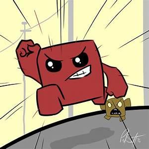 Super Meat Boy Fan Art Super Meat Boy Giant Bomb