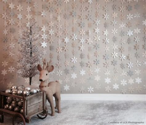 Background Winter Backdrop Ideas by This Lovely Snowflake Garland Is For Any Winter
