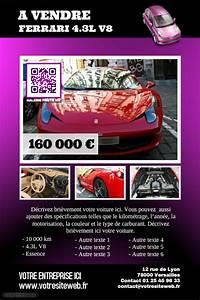 Démarche Pour Vendre Une Voiture : id e d 39 affiche pour une voiture vendre mod les d 39 affiches flyers ~ Gottalentnigeria.com Avis de Voitures